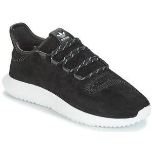adidas Originals Tubular Shadow Suede Black White